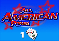 All American Poker 1 Hand